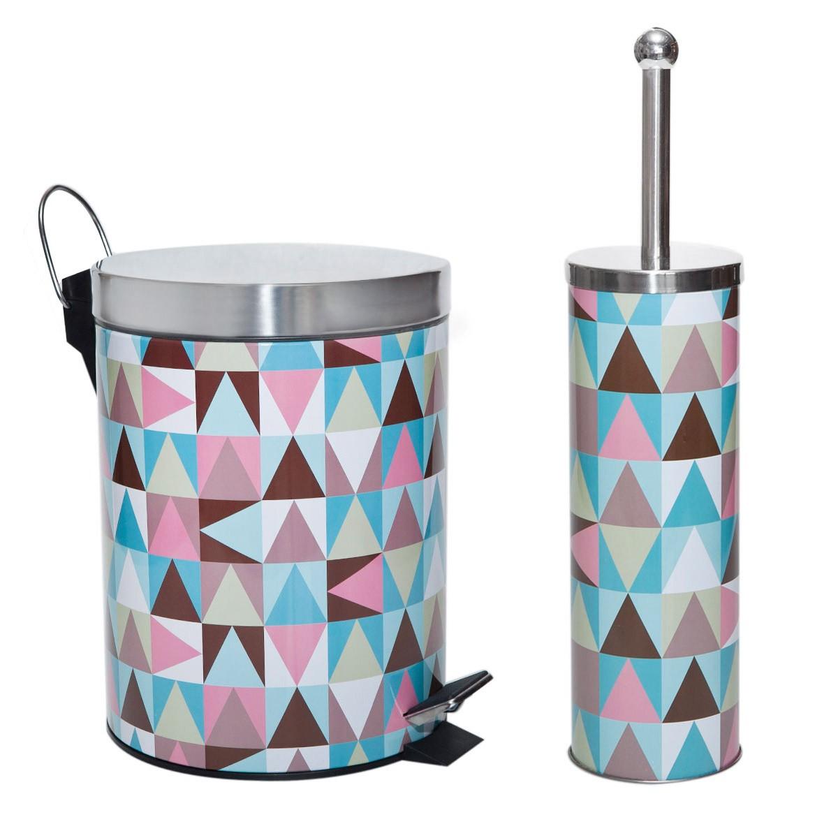 Κάδος Απορριμάτων + Πιγκάλ (Σετ) Marva Colors 575036