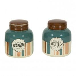 Δοχείο Ζάχαρης + Καφέ (Σετ) Marva Blue Jars 652123