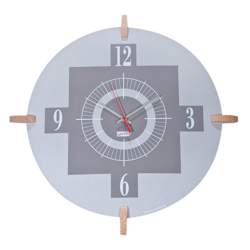 Ρολόι Τοίχου Marva Aluminium 3392/ΑL