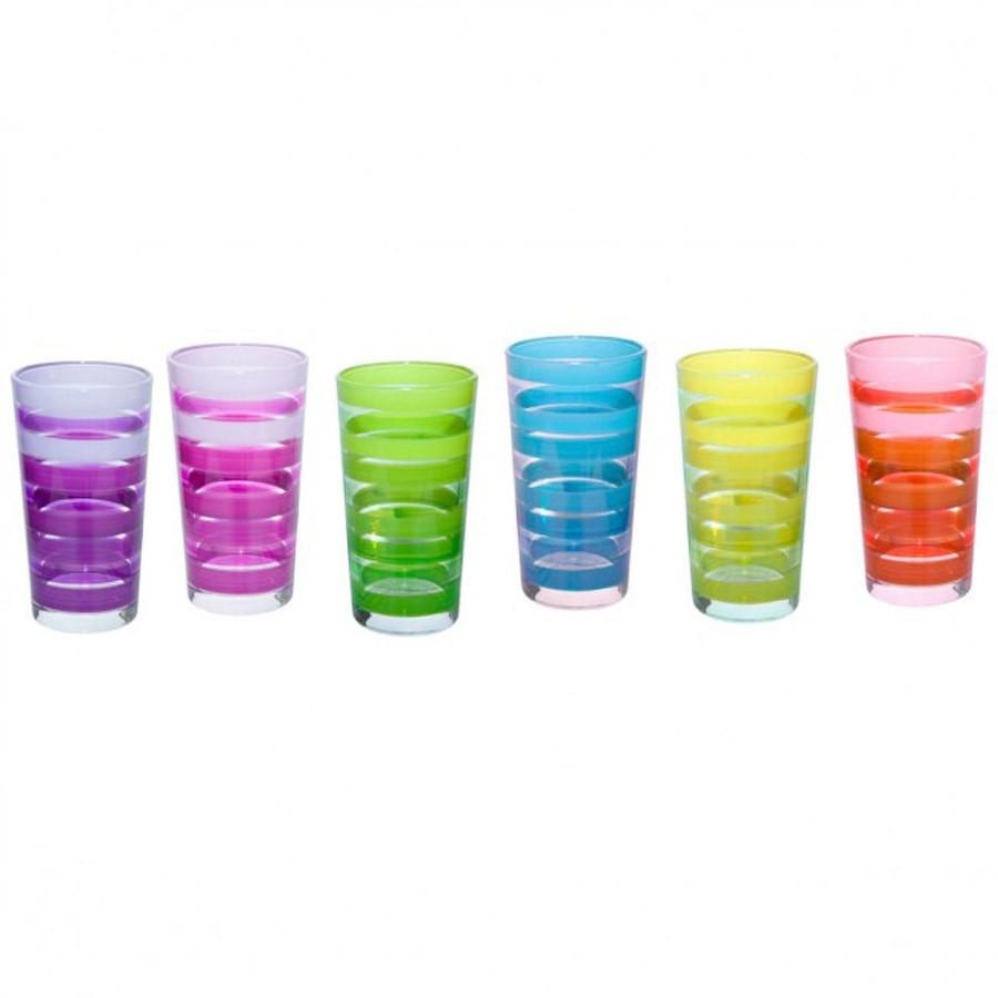 Ποτήρια Νερού (Σετ 6τμχ) Marva Flash Μ54540 home   κουζίνα   τραπεζαρία   ποτήρια