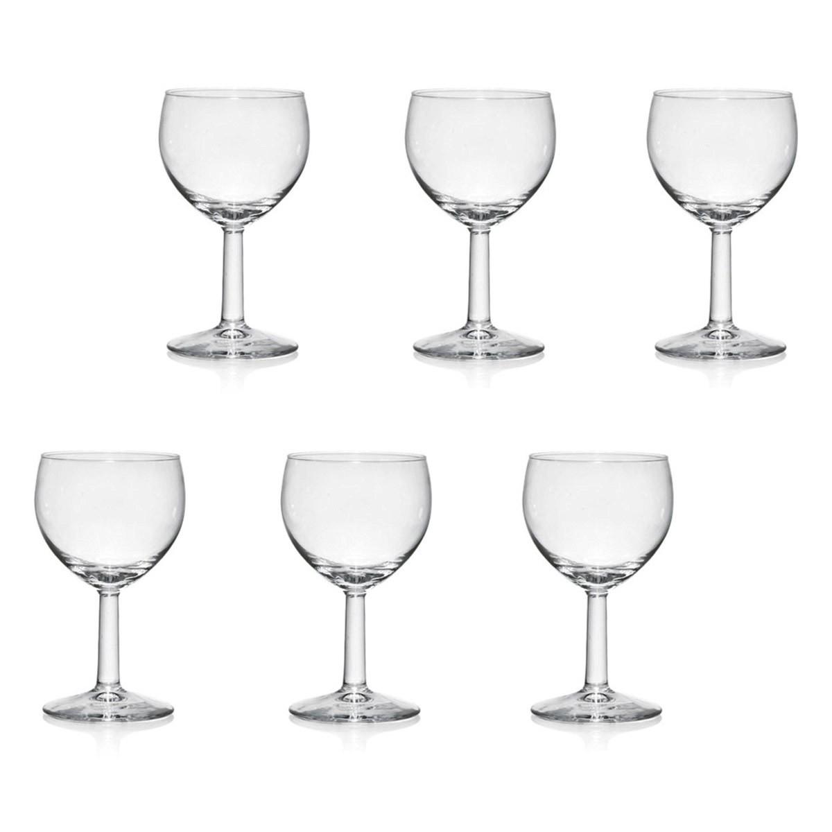 Ποτήρια Κρασιού Κολωνάτα (Σετ 12τμχ) Marva Ballon 412820