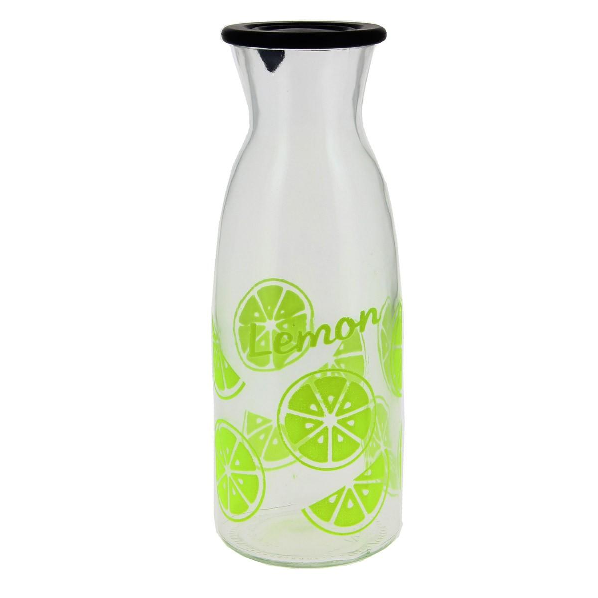Μπουκάλι Με Καπάκι Marva Gummy Lemon Μ67590 home   κουζίνα   τραπεζαρία   κανάτες   μπουκάλια