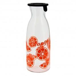 Μπουκάλι Με Καπάκι Marva Gummy Orange Μ67640