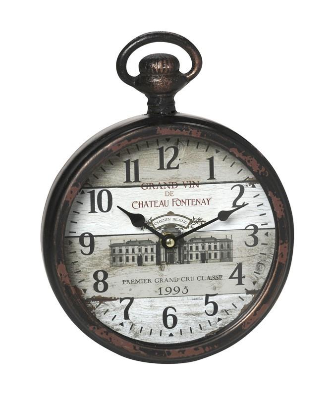 Ρολόι Τοίχου Espiel Grand Vin LOG422 85989