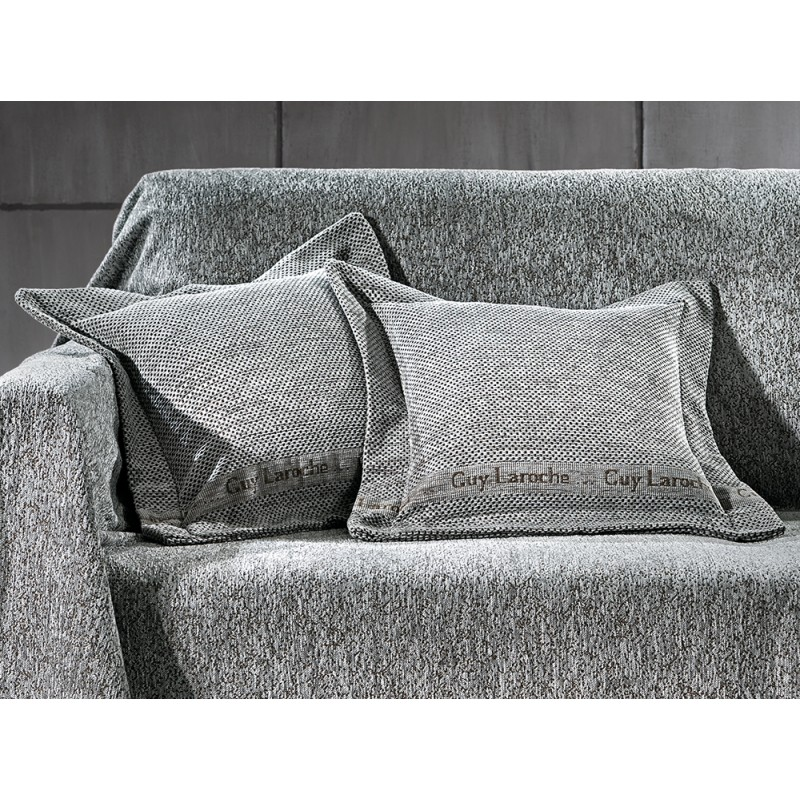 Διακοσμητική Μαξιλαροθήκη (40x40) Guy Laroche GA - BAL Silver