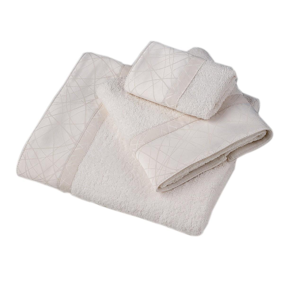 Πετσέτες Μπάνιου (Σετ 3τμχ) Omega Home Des 101