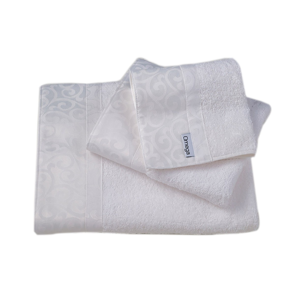 Πετσέτες Μπάνιου (Σετ 3τμχ) Omega Home Des 112