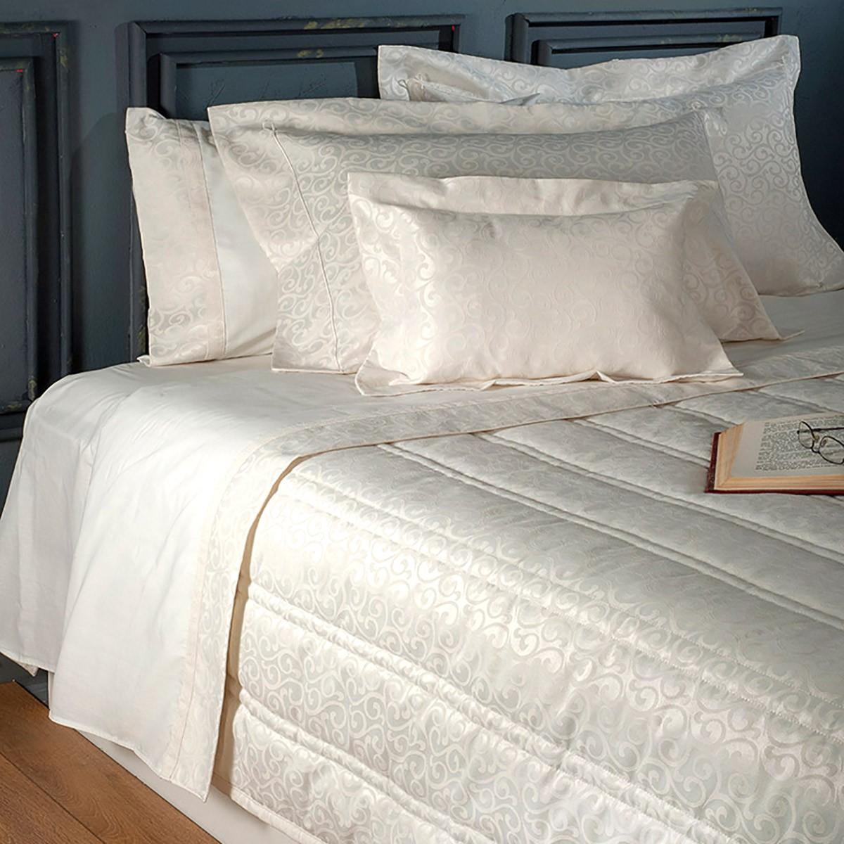 Νυφικό Κουβερλί (Σετ) Omega Home Des 102 home   μόδα γάμου   κουβερλί νυφικά
