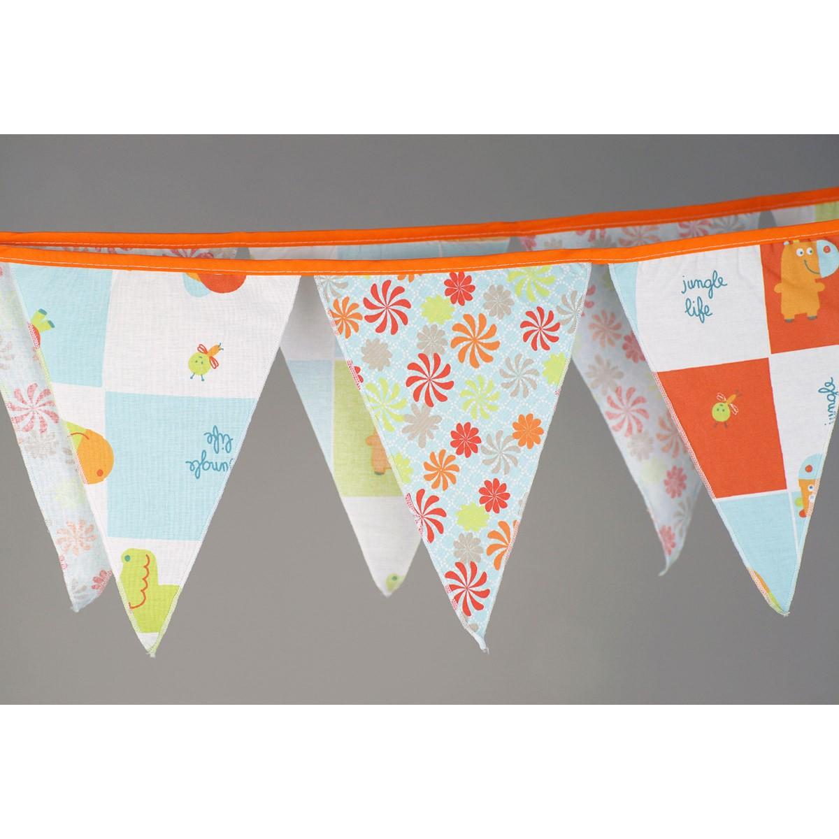 Διακοσμητικά Σημαιάκια Ninna Nanna Jungle home   βρεφικά   βρεφική διακόσμηση