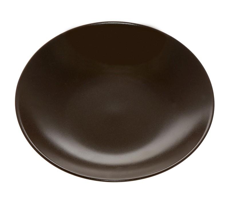 Πιάτο Βαθύ Espiel Στρογγυλό Καφέ SNA1003K6 86233