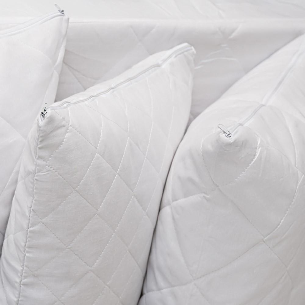 Ζεύγος Καλύμματα Μαξιλαριών 50x70 Καπιτονέ Melinen home   κρεβατοκάμαρα   επιστρώματα   καλύμματα μαξιλαριών