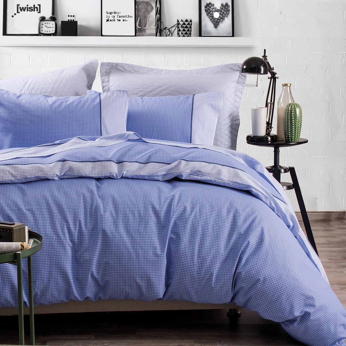 Σεντόνια Μονά (Σετ) Rythmos Next More Blue ΧΩΡΙΣ ΛΑΣΤΙΧΟ 160×260 ΧΩΡΙΣ ΛΑΣΤΙΧΟ 160×260
