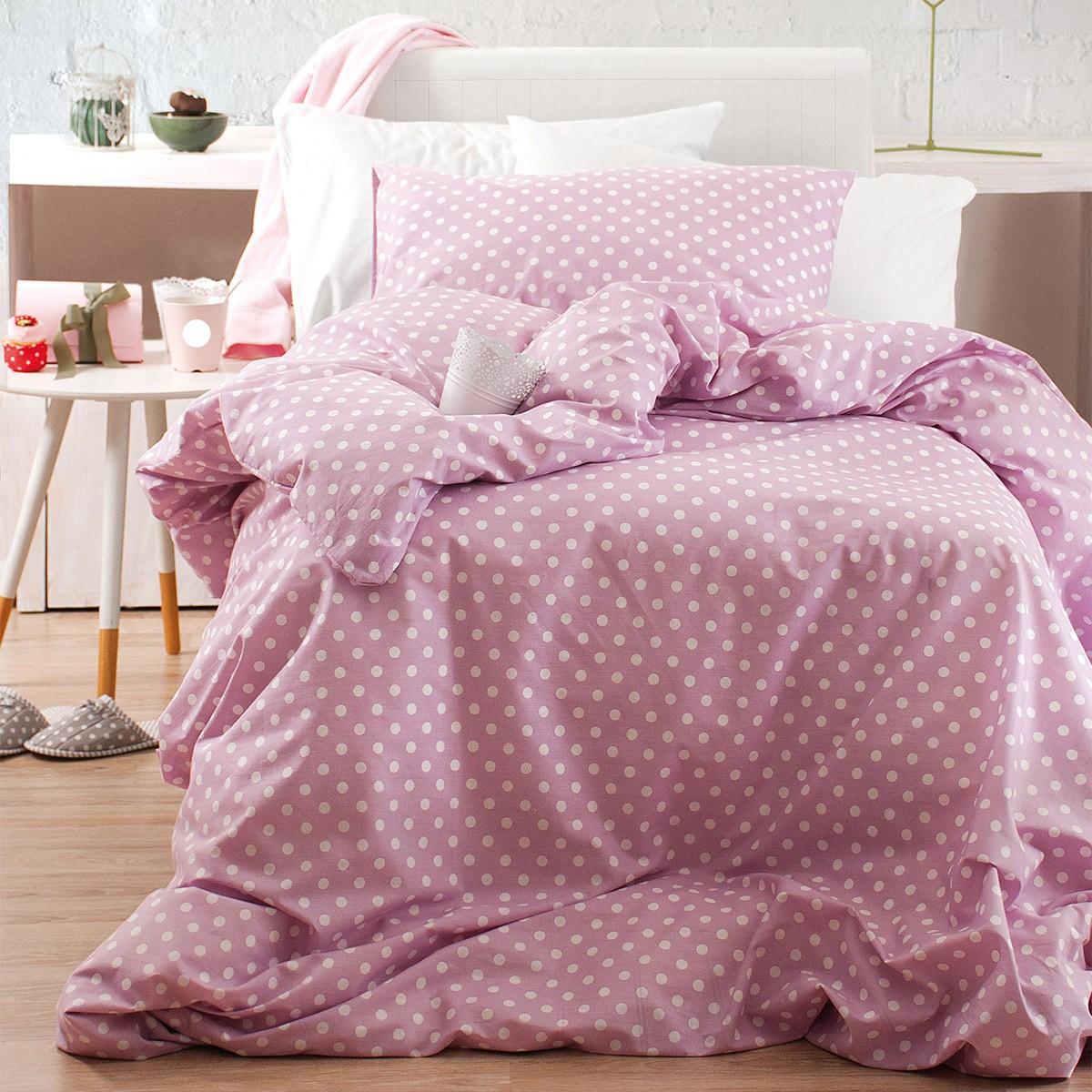 Παπλωματοθήκη Μονή (Σετ) Rythmos Diva Sassy New Pink