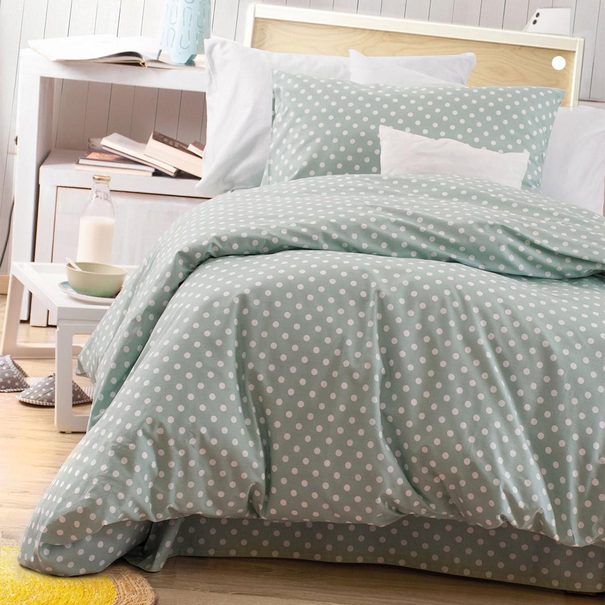Παπλωματοθήκη Μονή (Σετ) Rythmos Diva Sassy New Green 86622