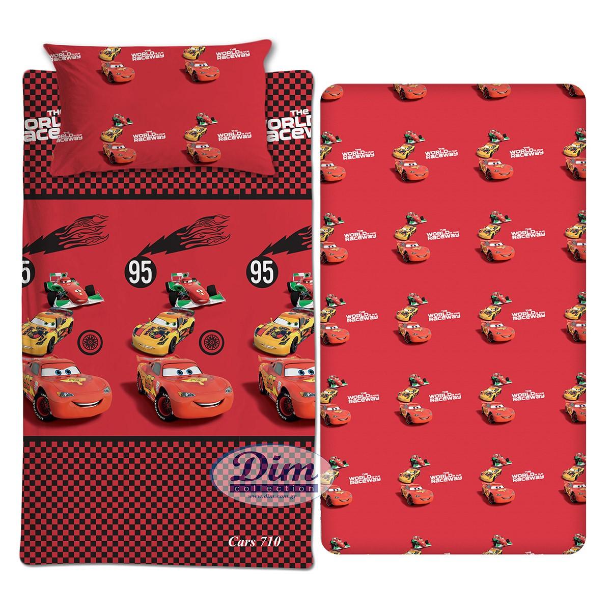 Σεντόνια Μονά (Σετ) Dim Collection Cars 710