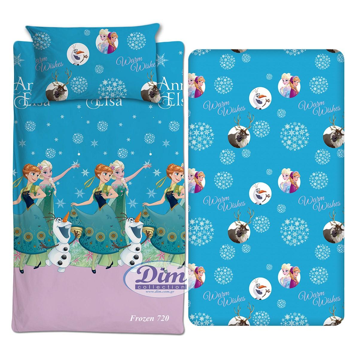 Σεντόνια Μονά (Σετ) Dim Collection Frozen 720