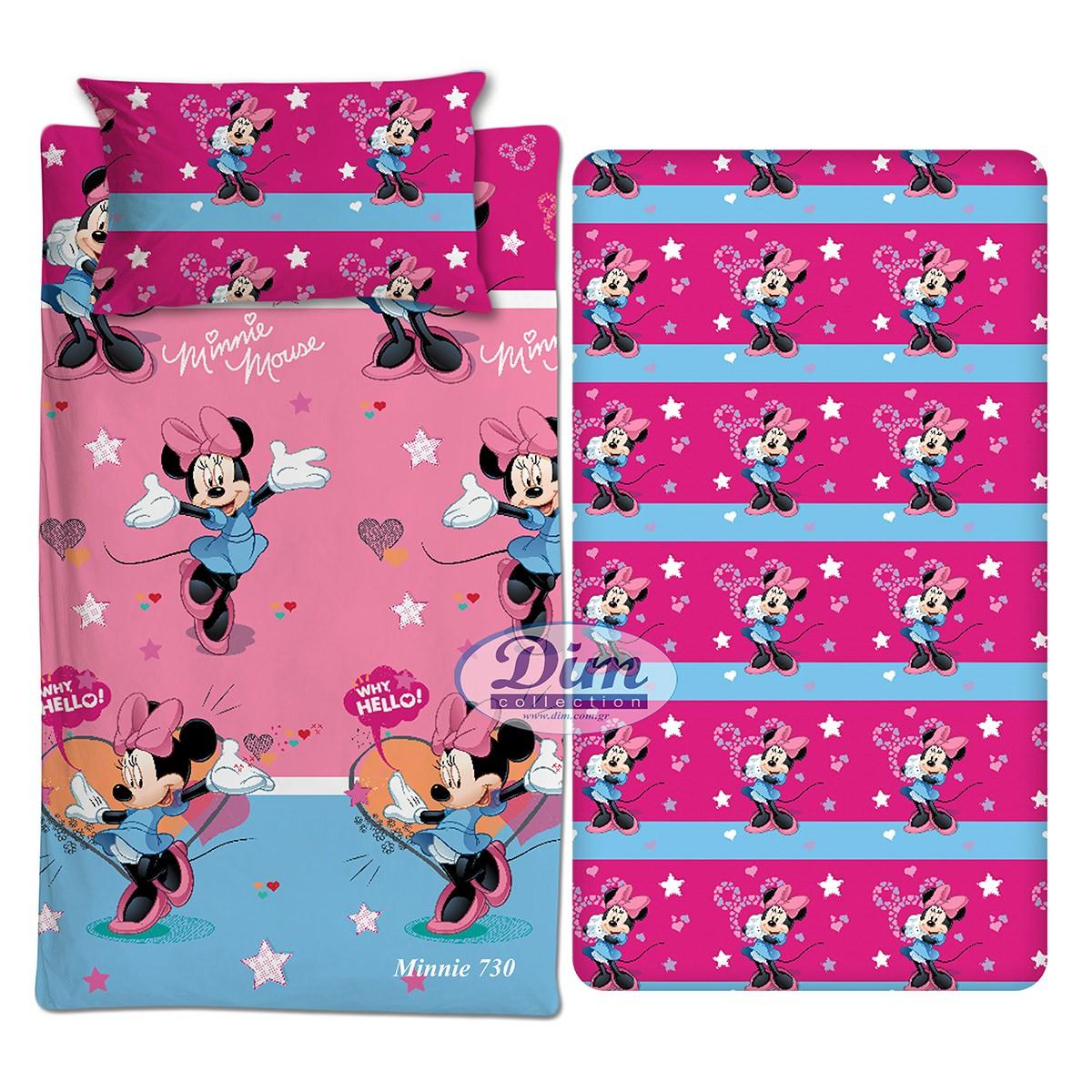 Σεντόνια Μονά (Σετ) Dim Collection Minnie 730