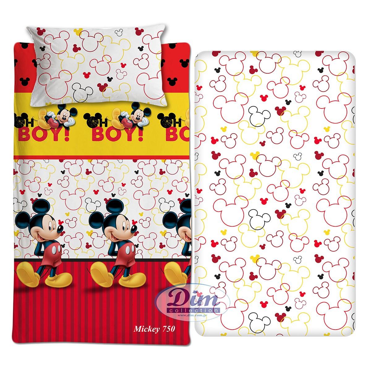 Σεντόνια Μονά (Σετ) Dim Collection Mickey 750