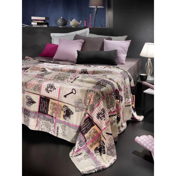Κουβέρτα Fleece Υπέρδιπλη Nima Republic Mayfair