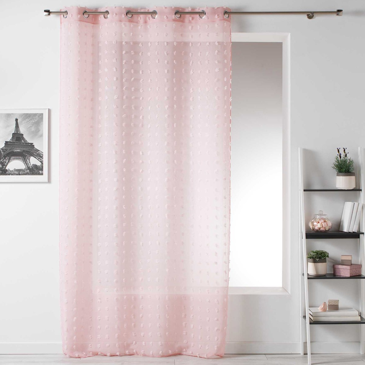Κουρτίνα (140×240) Pomponi Rose 1624945
