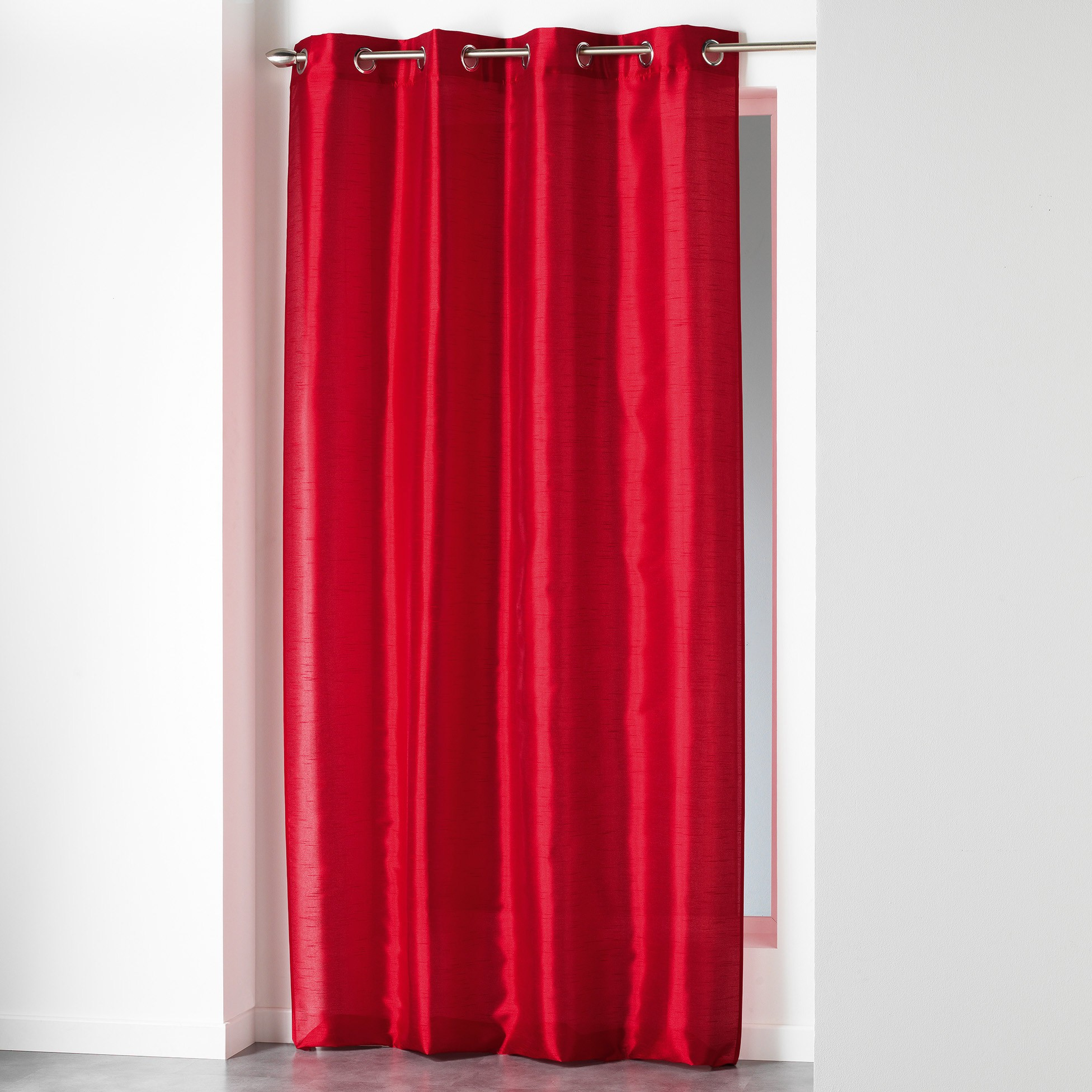 Κουρτίνα (140x280) Shana Rouge 1606749