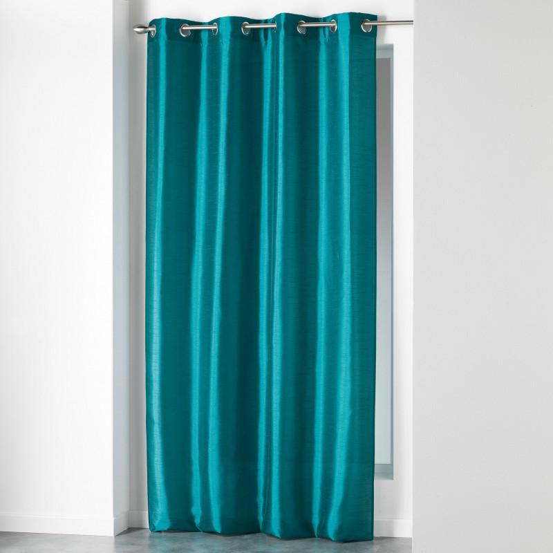 Κουρτίνα (140x280) Με Τρουκς L-C Shana Bleu 1606744
