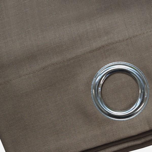 Κουρτίνα (140x240) Με Τρουκς L-C Panama Noisette 1605668