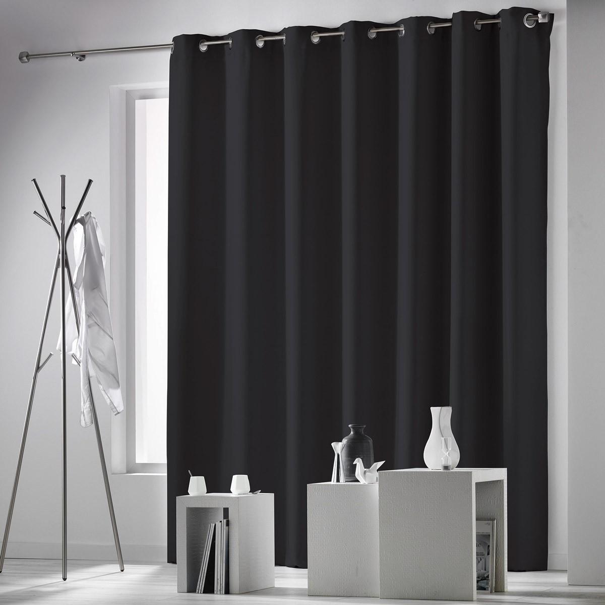 Κουρτίνα Blackout (280x260) Με Τρουκς Occulteo Noir 1606256