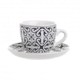 Φλυτζάνια Καφέ + Πιατάκια (Σετ 6τμχ) InArt 3-60-520-0027