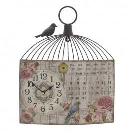 Ρολόι Τοίχου - Ημερολόγιο InArt 3-20-098-0258