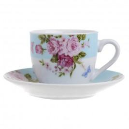 Φλυτζάνια Καφέ + Πιατάκια (Σετ 6τμχ) InArt 3-60-737-0016