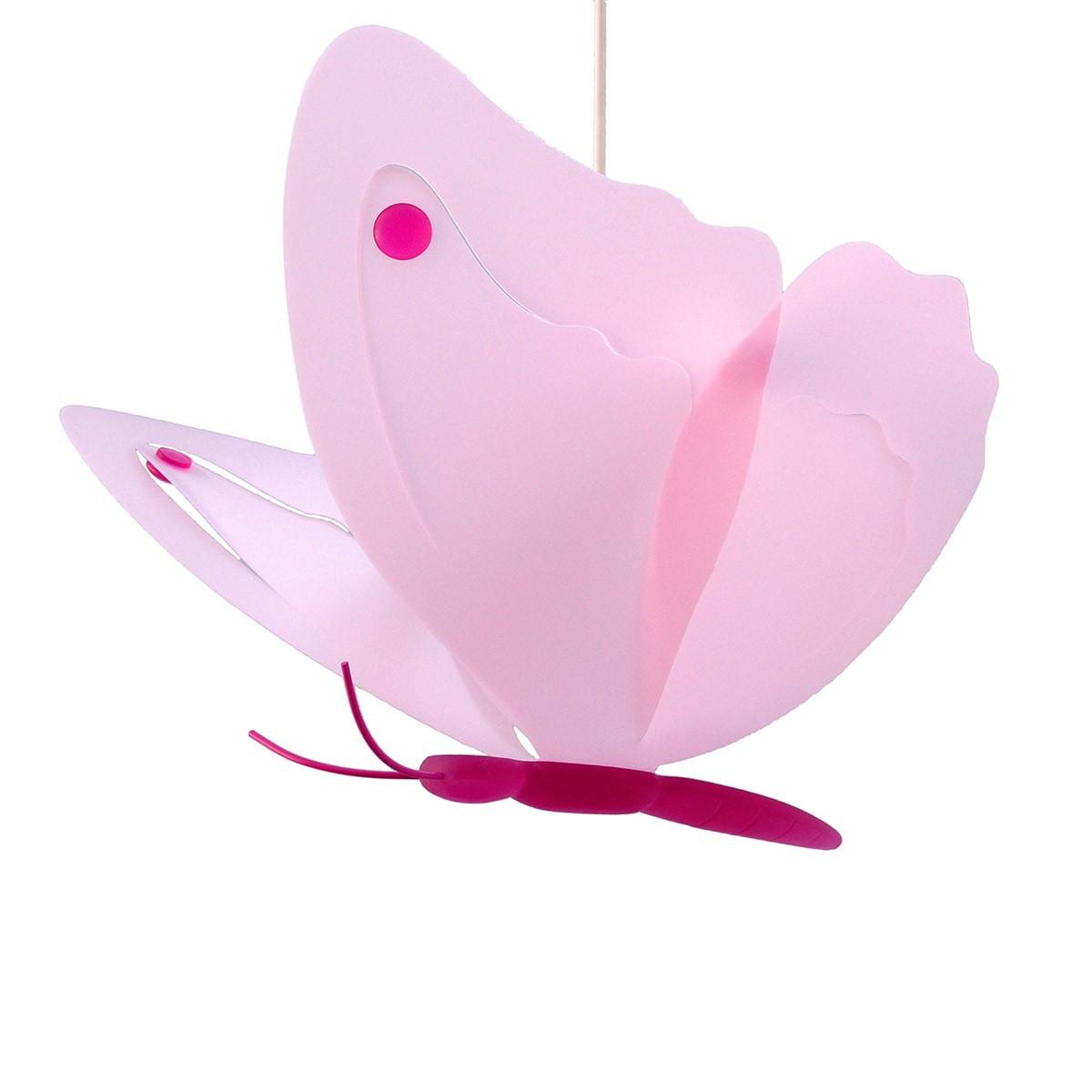 Φωτιστικό Οροφής R&M Coudert Πεταλούδα Ροζ 87002