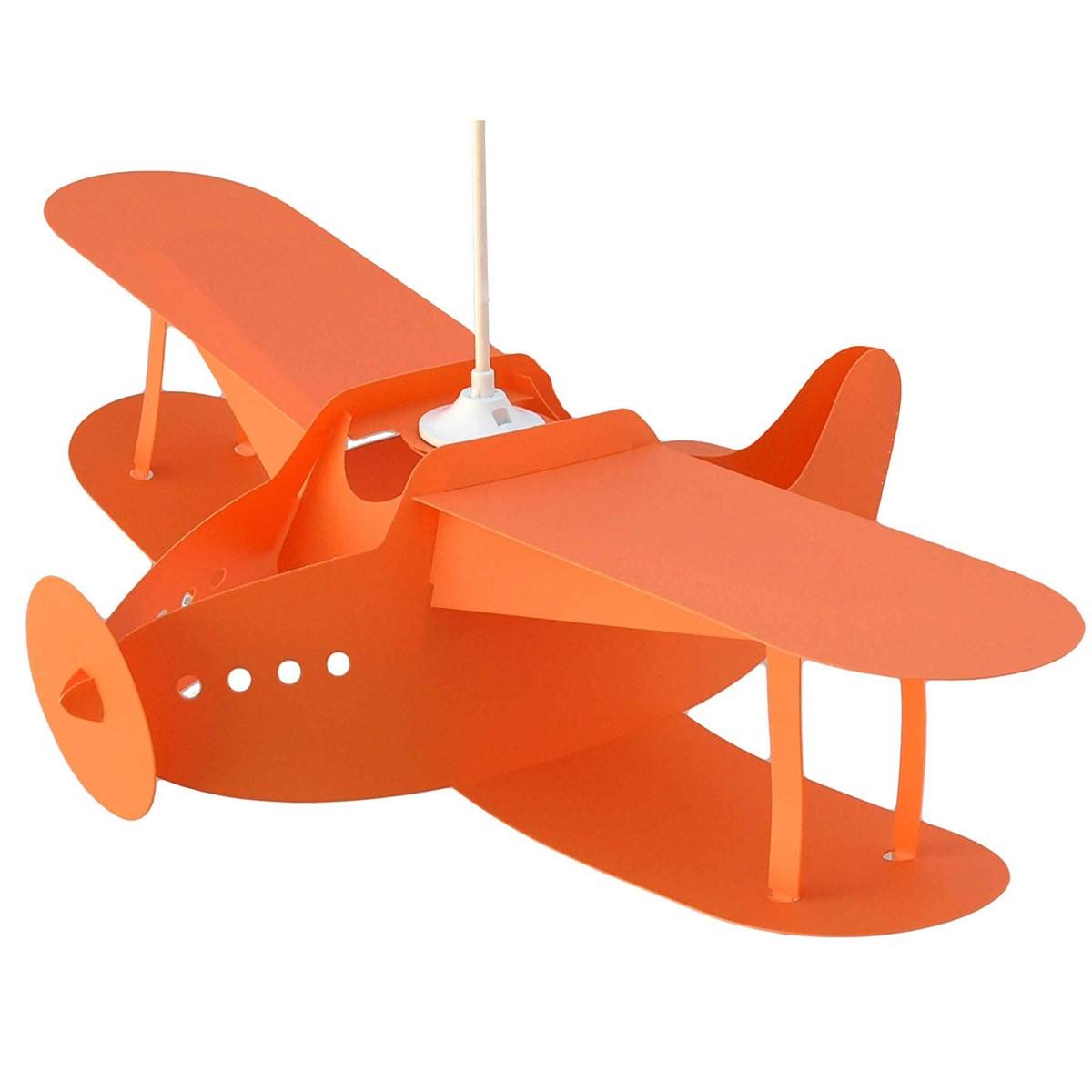 Φωτιστικό Οροφής R&M Coudert Αεροπλάνο Πορτοκαλί 87004