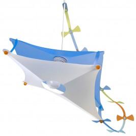 Φωτιστικό Οροφής R&M Coudert Χαρταετός Μπλε