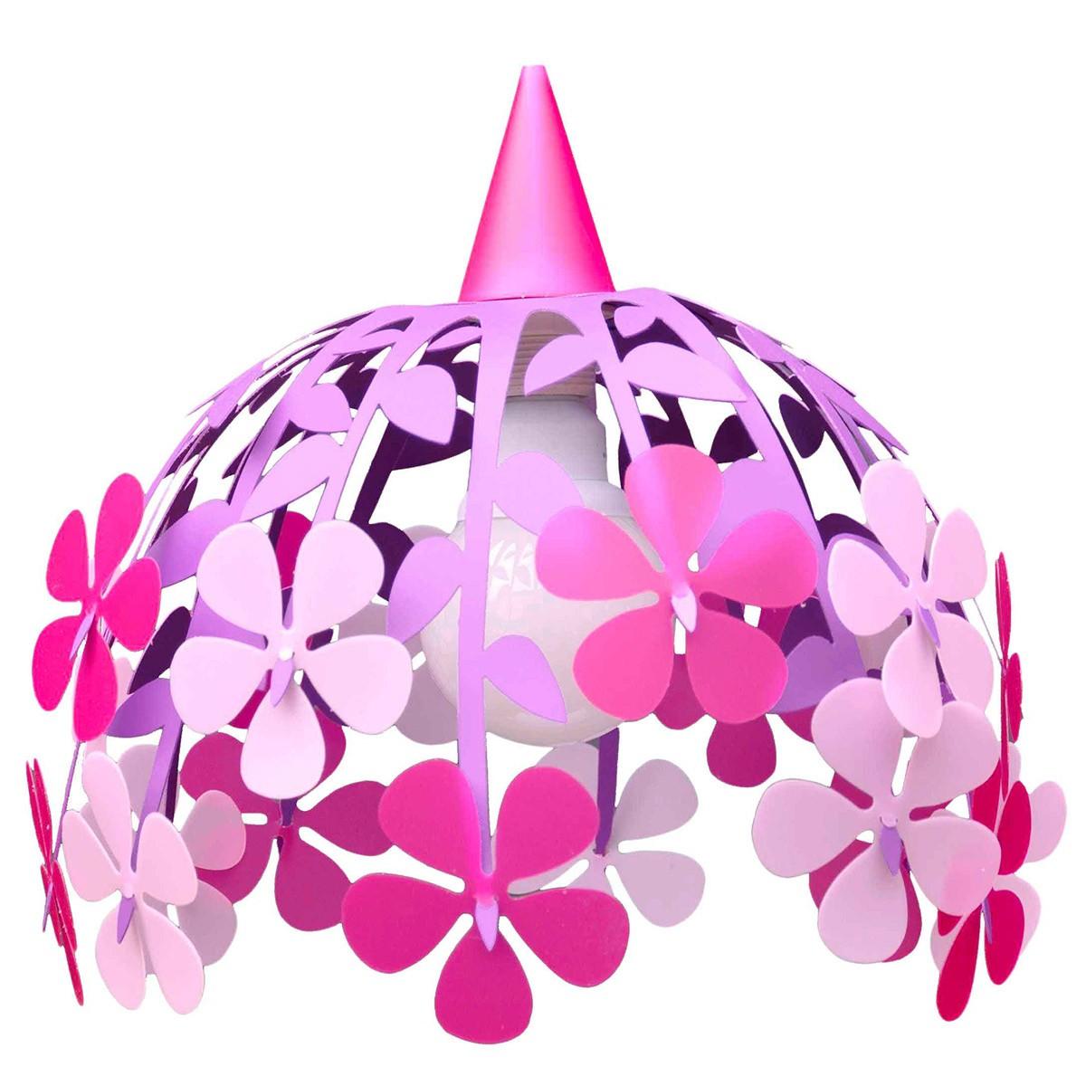 Φωτιστικό Οροφής R&M Coudert Μπουκέτο Λουλουδιών Λιλά/Ροζ