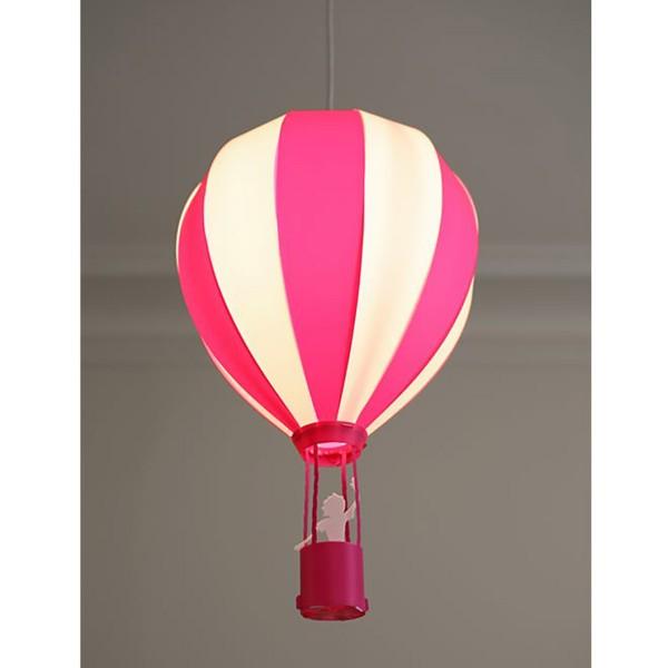 Παιδικό Φωτιστικό Οροφής Μονόφωτο R&M Coudert Αερόστατο Ροζ