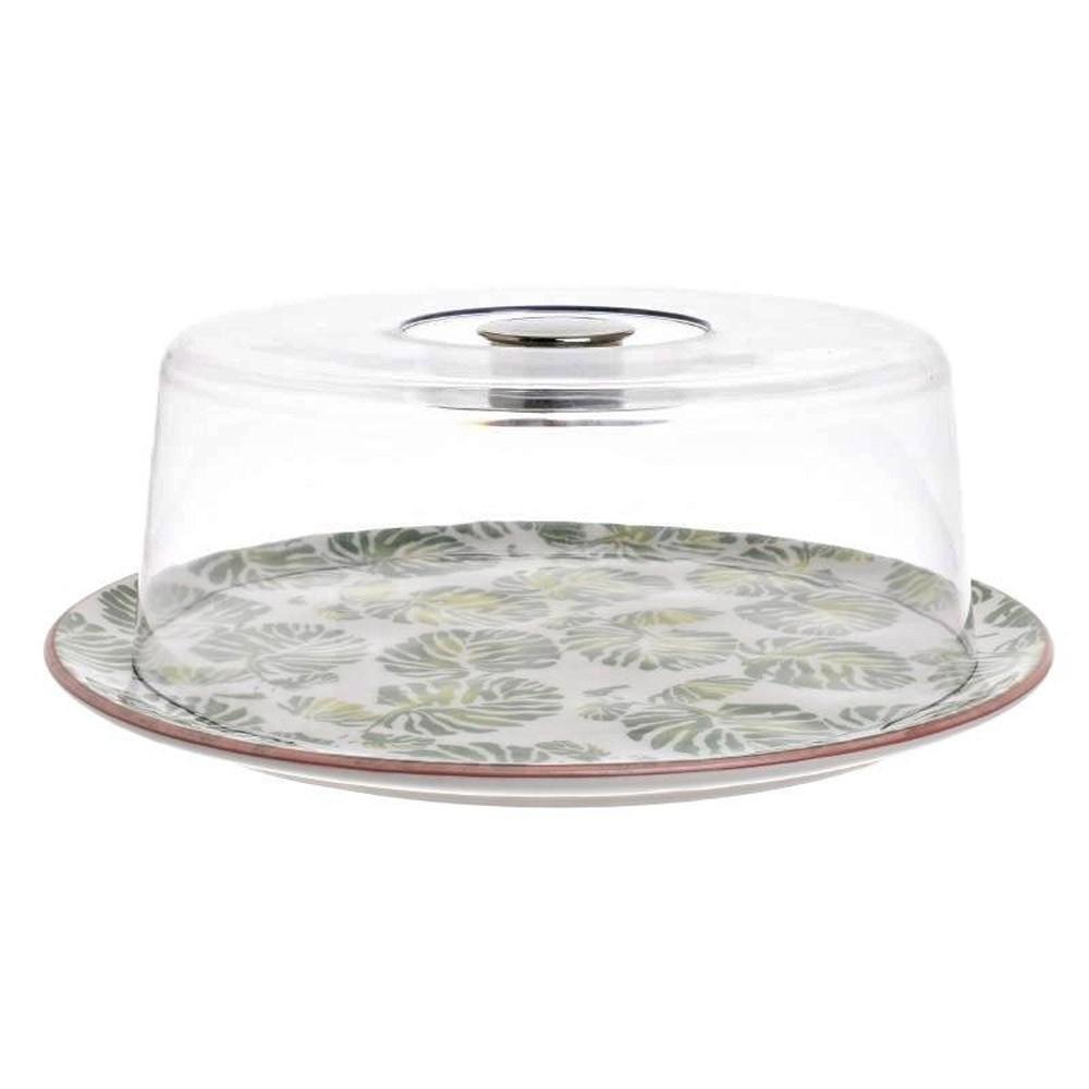 Πιατέλα Σερβιρίσματος Με Καπάκι InArt 3-60-017-0010 home   κουζίνα   τραπεζαρία   είδη σερβιρίσματος