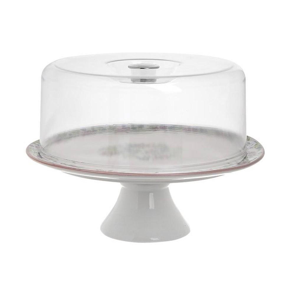 Τουρτιέρα Με Καπάκι InArt 3-60-017-0011 home   κουζίνα   τραπεζαρία   είδη σερβιρίσματος