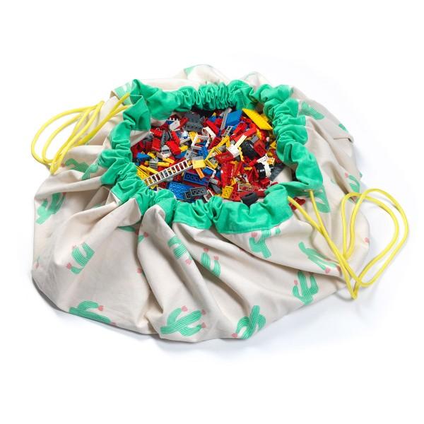 Σάκος/Στρώμα Παιχνιδιού Play&Go Cactus