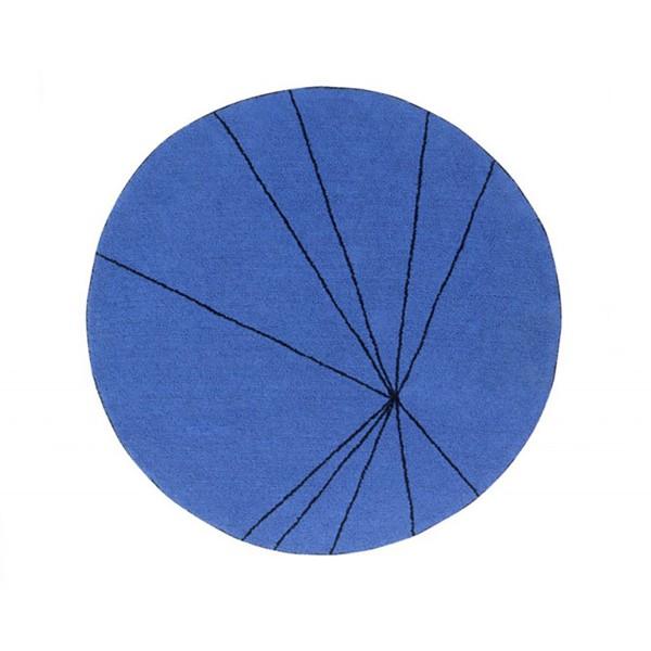 Πλενόμενο Στρογγυλό Χαλί (Φ160) Lorena Canals Trace Klein