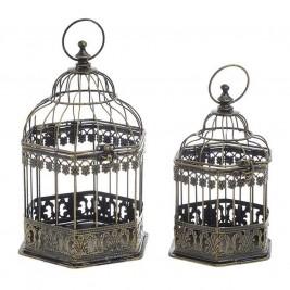 Διακοσμητικά Κλουβιά (Σετ 2τμχ) InArt 3-70-207-0120