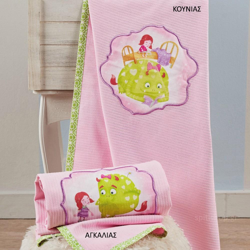 Κουβέρτα Πικέ Κούνιας Kentia Baby Fairy Tale 14