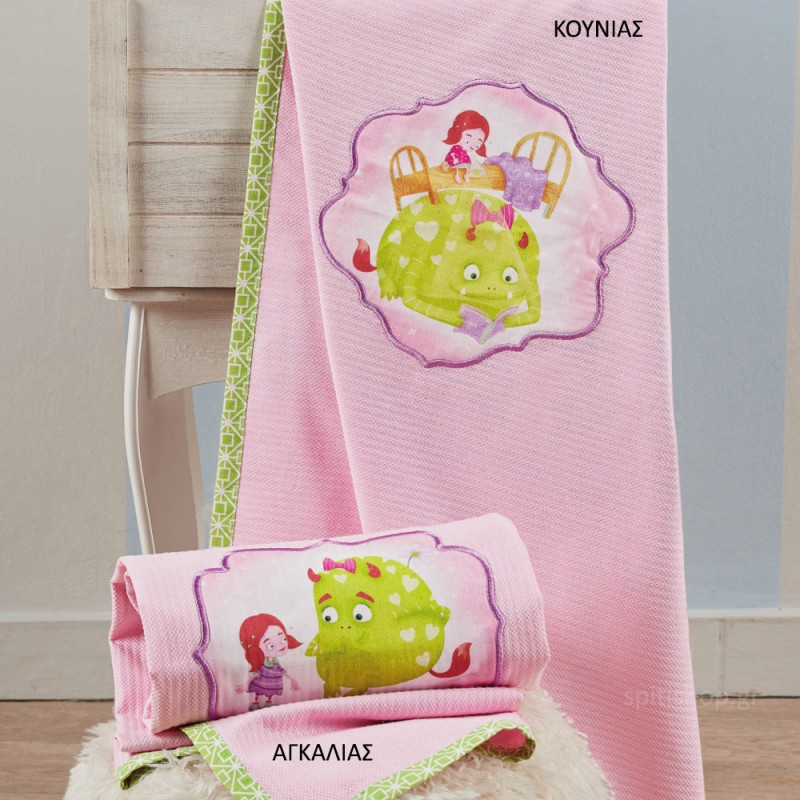 Κουβέρτα Πικέ Αγκαλιάς Kentia Baby Fairy Tale 14