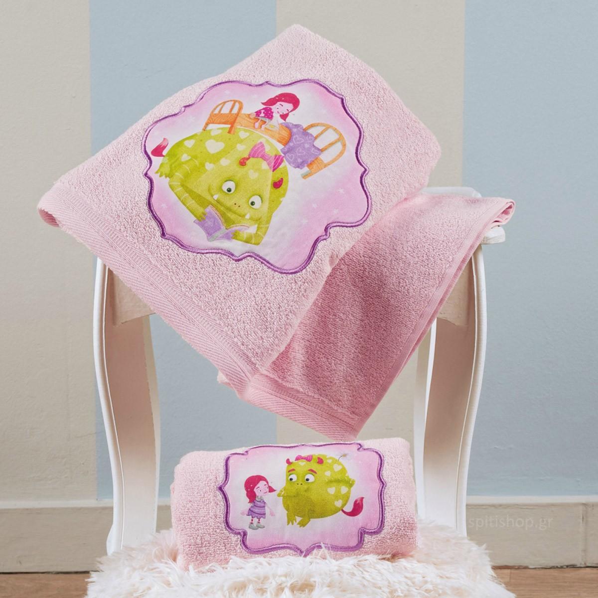 Βρεφικές Πετσέτες (Σετ 2τμχ) Kentia Baby Fairy Tale 14 87226