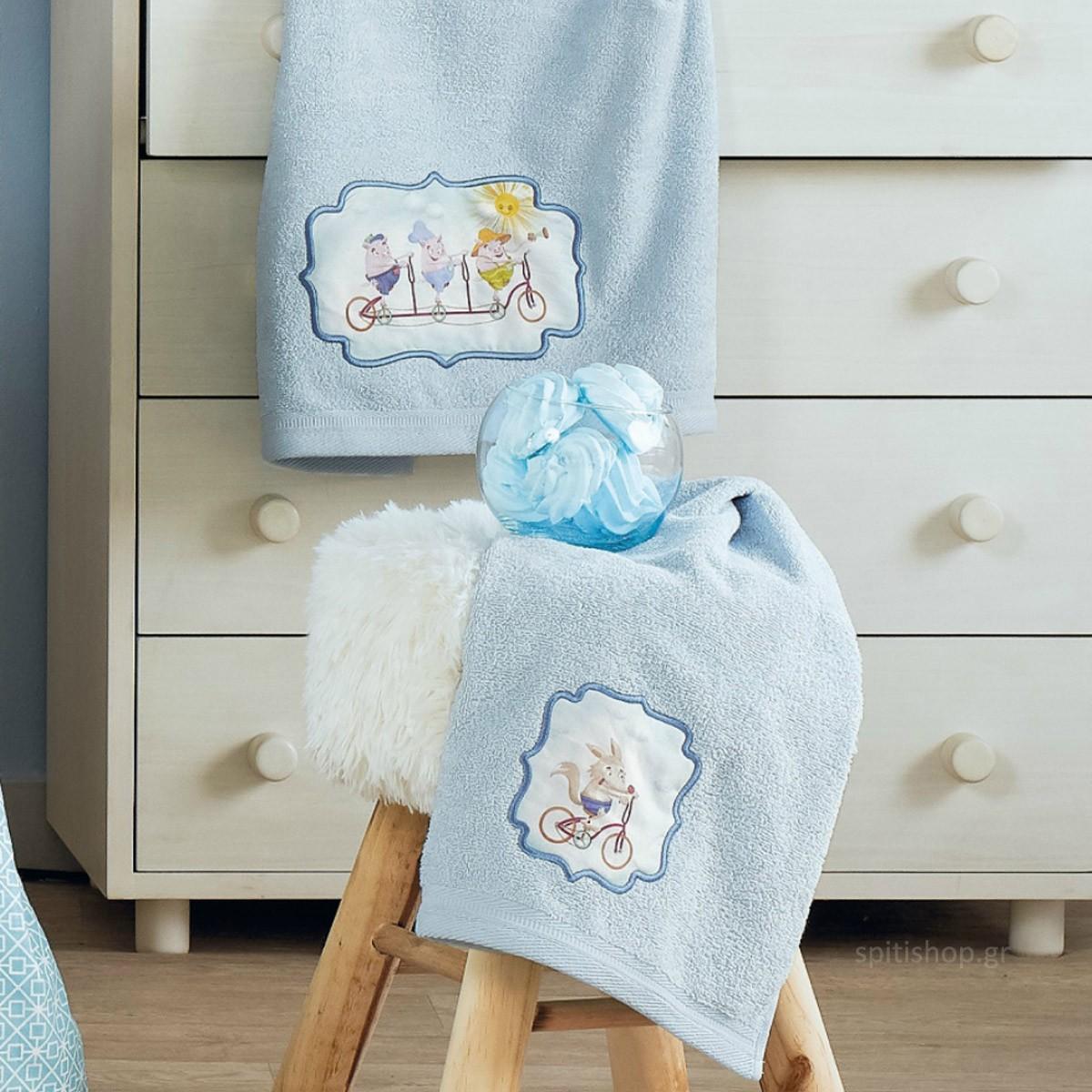 Βρεφικές Πετσέτες (Σετ 2τμχ) Kentia Baby Fairy Tale 19