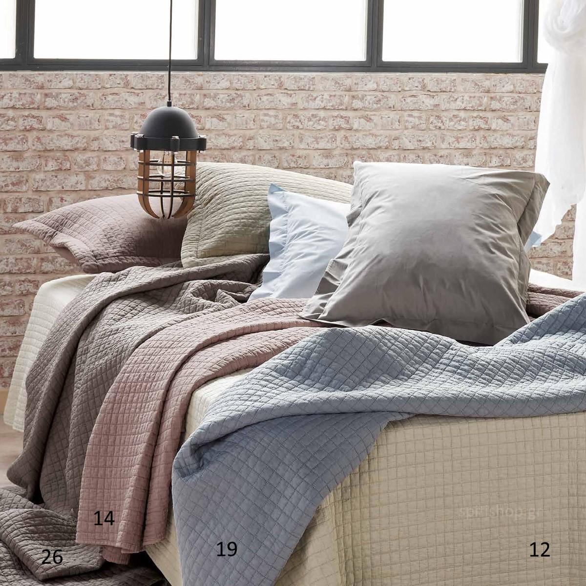 Κουβερλί Ημίδιπλο Πετροπλυμένο Kentia Versus Opal home   κρεβατοκάμαρα   κουβερλί   κουβερλί ημίδιπλα   διπλά