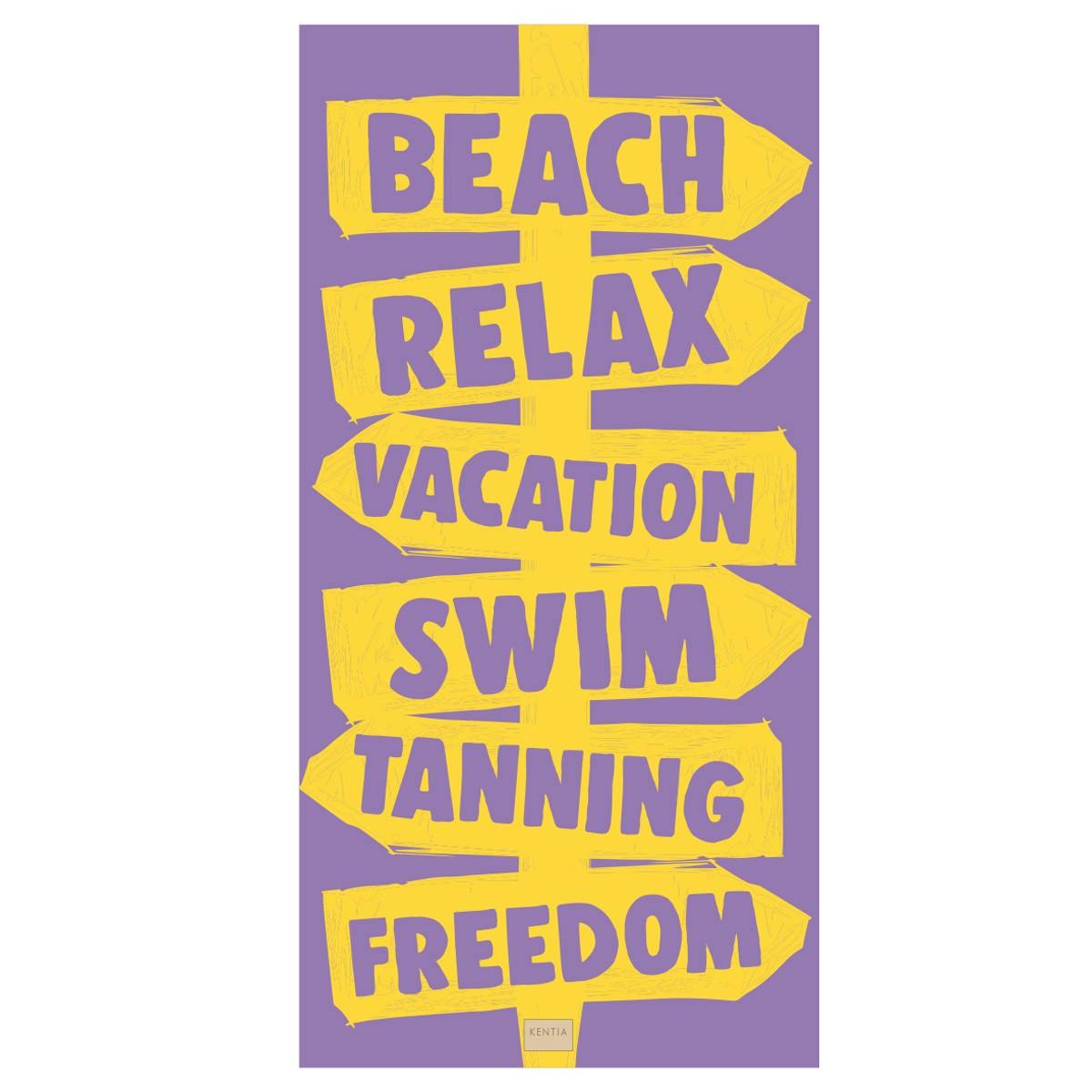 Πετσέτα Θαλάσσης Kentia Sign 35 home   θαλάσσης   πετσέτες θαλάσσης ενηλίκων