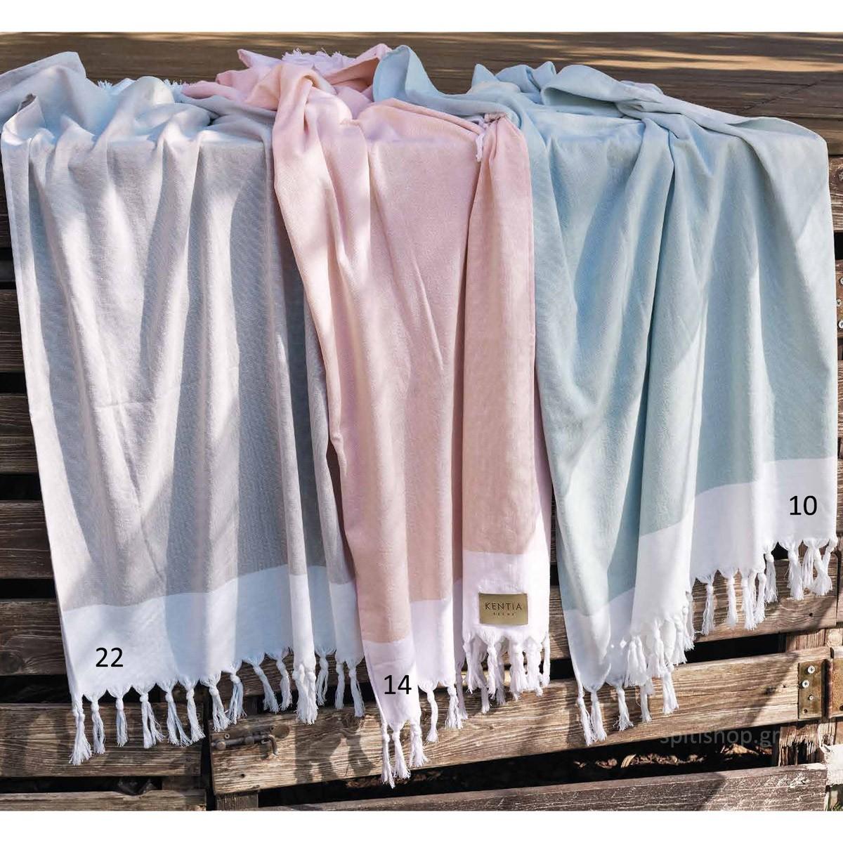 Πετσέτα Θαλάσσης-Παρεό Kentia Tronto