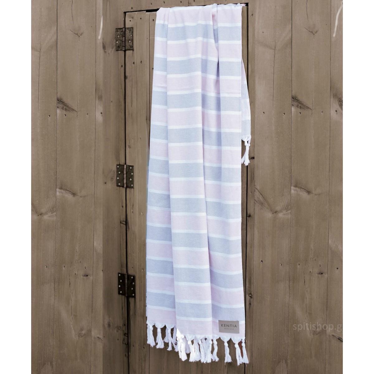 Πετσέτα Θαλάσσης-Παρεό Kentia Savio 14