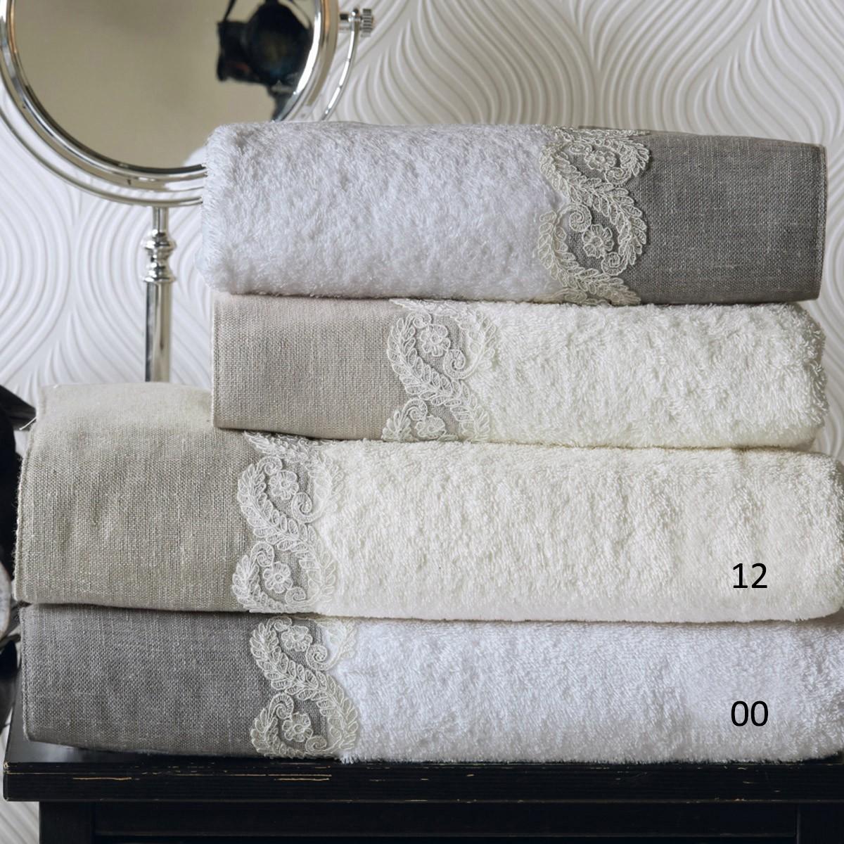 Πετσέτες Μπάνιου (Σετ 3τμχ) Kentia Bath Sarma
